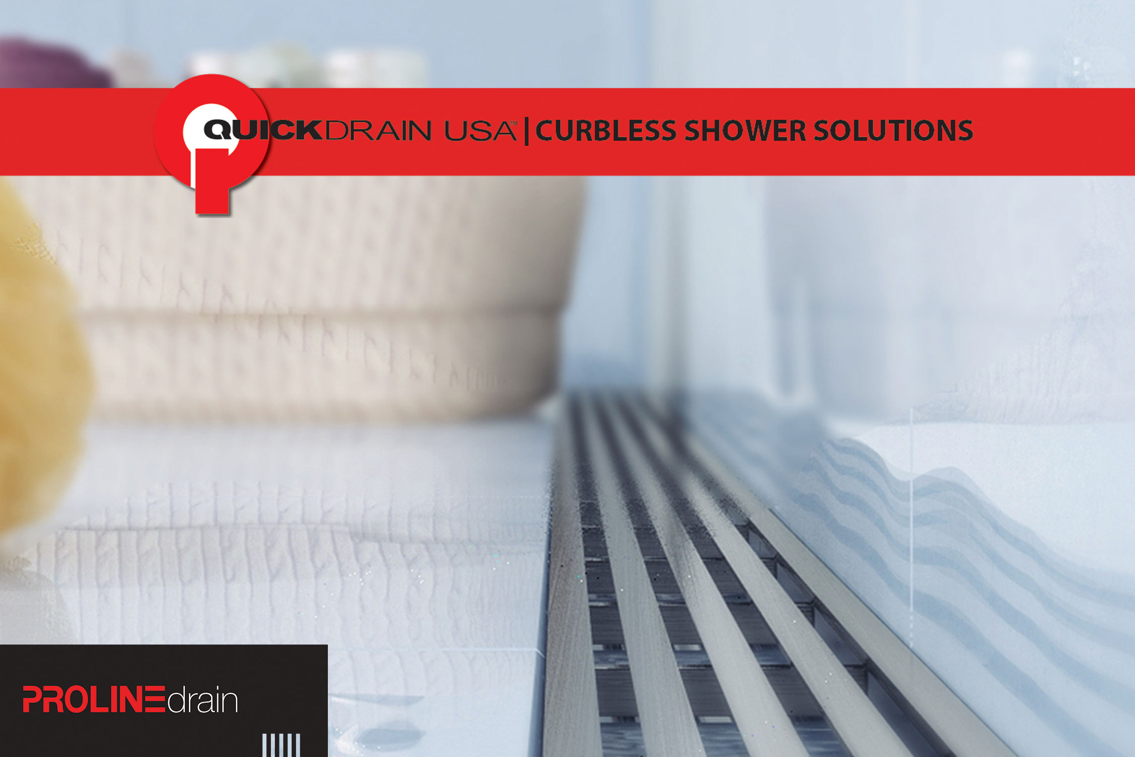 Quickdrain Shower Drain Systems