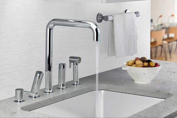 Watermark Designs Introduces Ergonomic Kitchen Faucet Collection