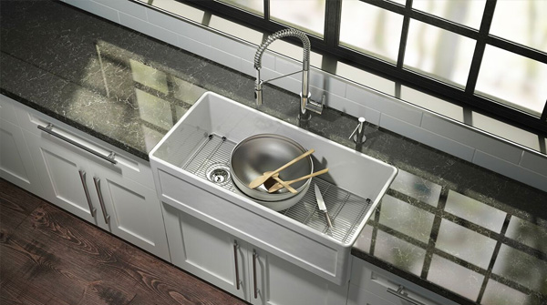Inspired By The J7 Stainless Steel Sink Collection, The Fira Sinks Have  Tight Internal Radii That Enhance Their Contemporary Esthetics While Also  Making ...