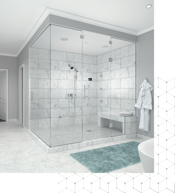 Steamist®, The Total Steam & Shower Experience.